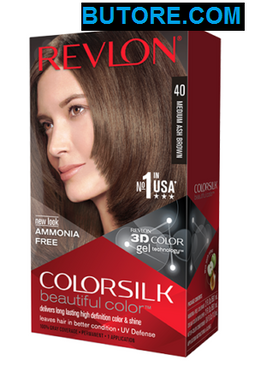 Colorsilk Medium Ash Brown 40 Beautiful Hair Color