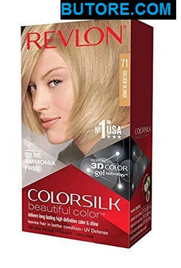 ColorSilk Beautiful Color, Golden Blonde #71