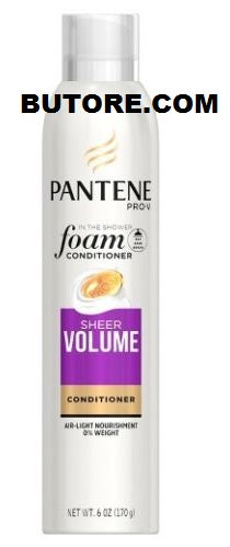 Pantene In the Shower Foam Conditioner Sheer Volume, 6 Oz