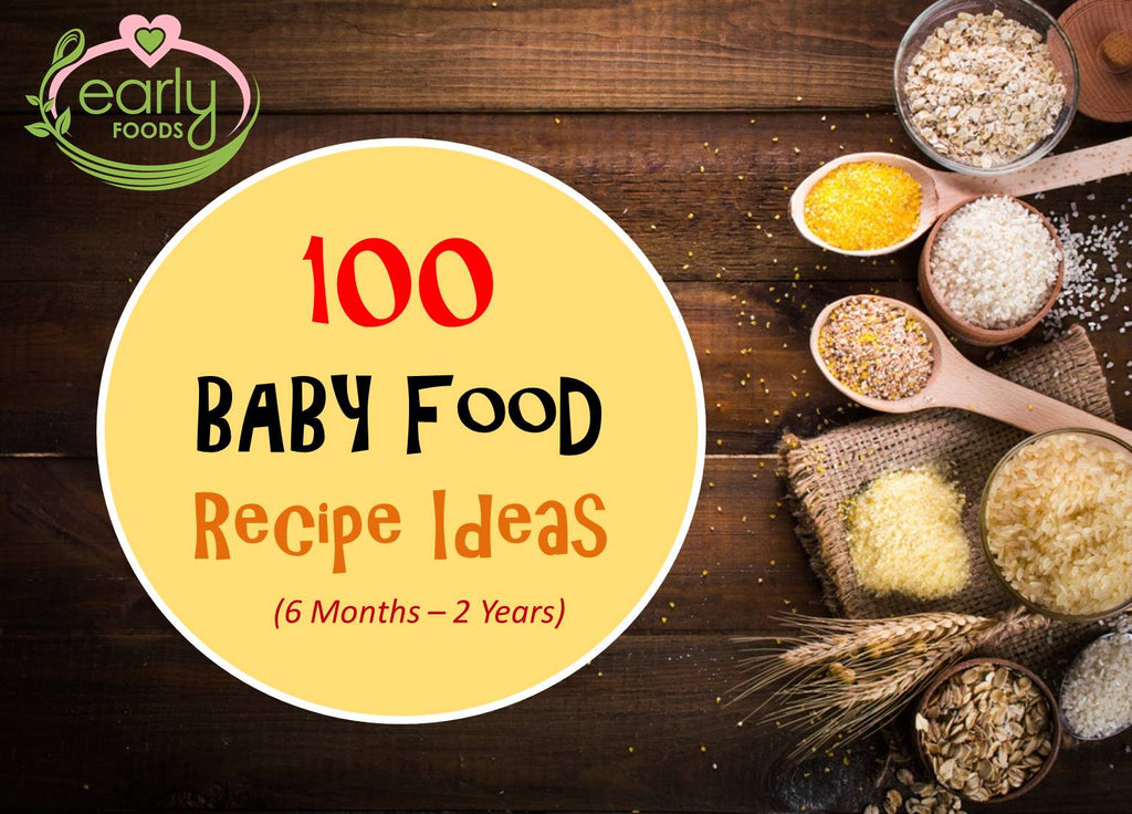 Baby food recipes early foods the organic baby food store 100 baby food recipe ideas list forumfinder Image collections