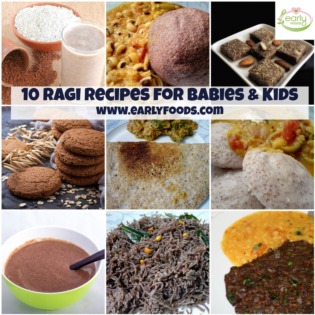Baby food recipes early foods the organic baby food store 10 wholesome ragi recipes for babies kids forumfinder Gallery
