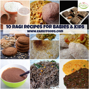 10 Wholesome Ragi Recipes for Babies & Kids