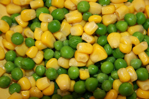 Boiled Corn & Peas Salad