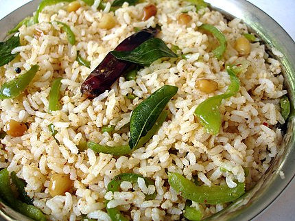 Capsicum Rice - A Healthy Lunch Box Idea for Kids