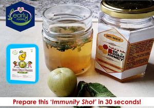 3 Ingredient Immunity Drink - 2 Min Recipe