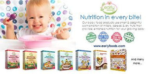 Organic Baby Foods India - 5 Star Review from MyCity4Kids for Early Foods
