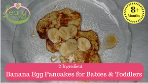 2 Ingredient Banana Egg Pancake - Healthy Breakfast Ready under 5 mins :-)