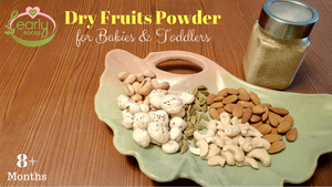 Dry Fruits Powder for Babies & Kids - To Help Weight Gain & Immunity