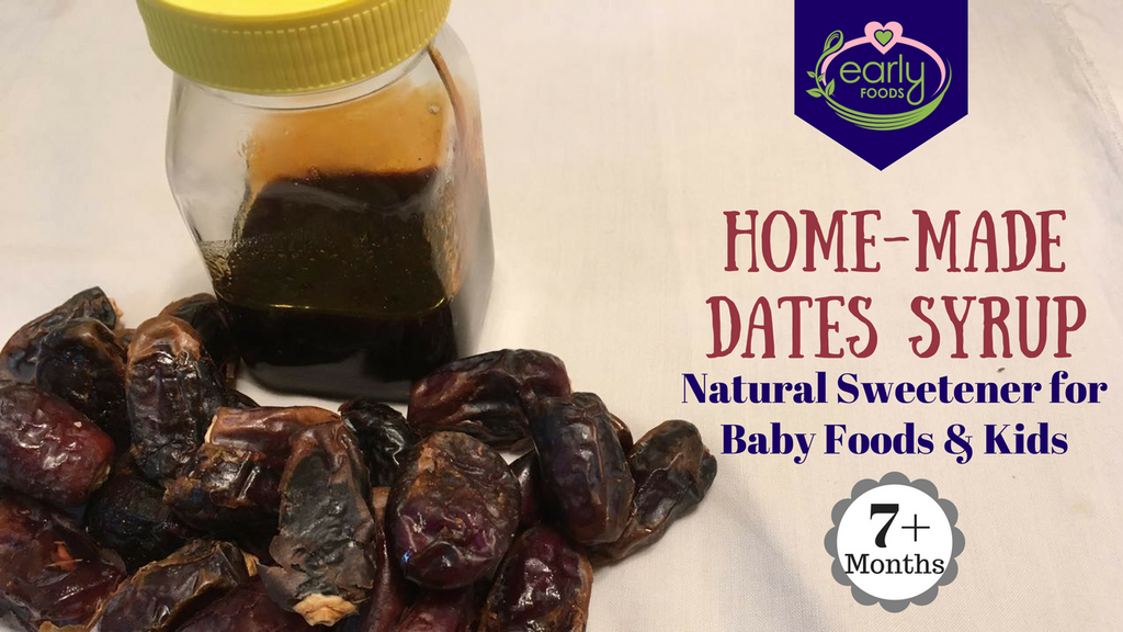 Home-made Dates Syrup - A Natural Replacement for Sugar
