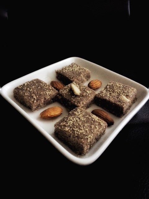 Sugarfree - Ragi Chocolate & Coconut Blocks