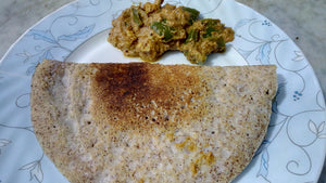 Ragi Dosa Made From Millets & No Rice