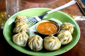 Whole Wheat Momos with Mixed Sprouts and Broccoli Filling