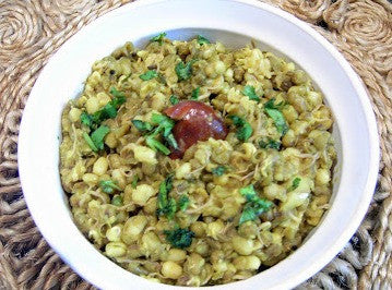 Sprouted Green Moong Dal Khichdi | Baby Friendly Recipes ...