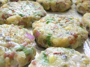Baked Sprout Cutlets