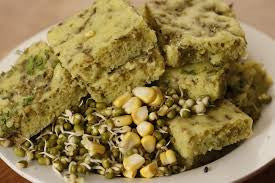 Sprouts Dhokla Finger Food for Kids Early Foods