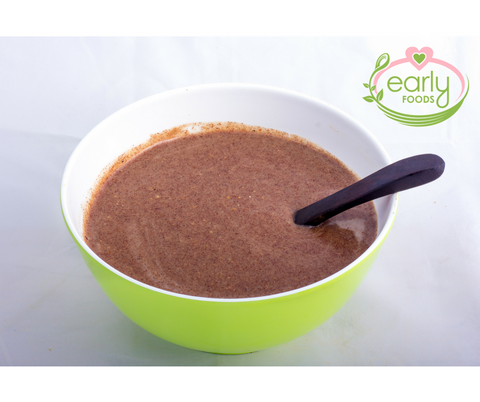 Sprouted Ragi Porridge Early Foods