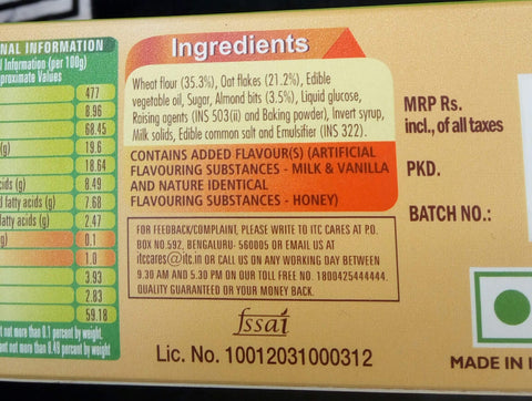 What does a biscuit contain? Are these ingredients safe | Early Foods