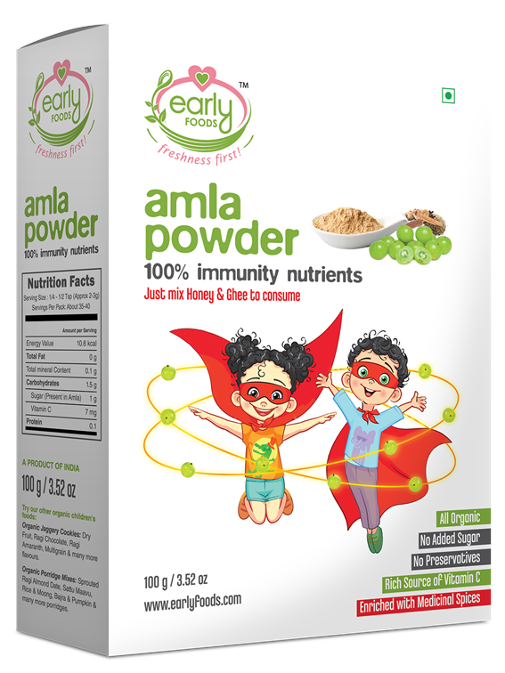 Organic Amla Powder 100g