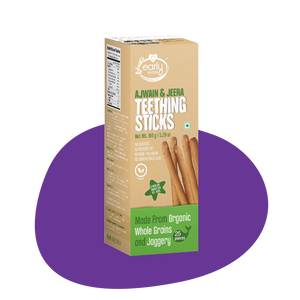 Whole Wheat Ajwain Jaggery Teething Sticks 150g