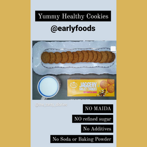 Assorted Pack of 4 - Ragi, Dry Fruit, Millet & Chocolate Jaggery Cookies X 4
