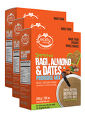 Combo 3 Pack - Sprouted Ragi Almond & Dates - 200g Each, 3 Packs