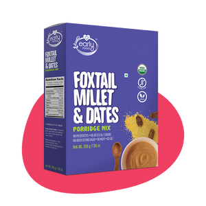 Organic Foxtail Millet & Dates Porridge Mix, 200g