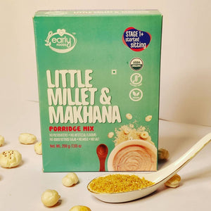Organic Little Millet & Makhana Porridge Mix, 200g