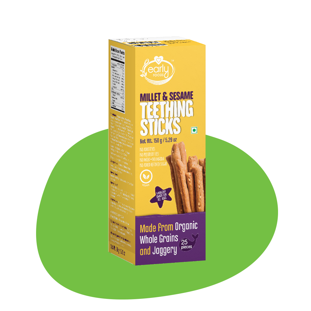 Millet & Sesame Jaggery Teething Sticks 150g