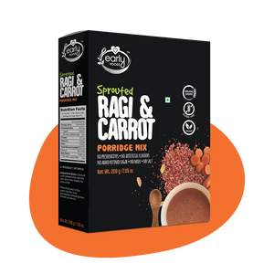 Sprouted Ragi Carrot Porridge Mix 200g