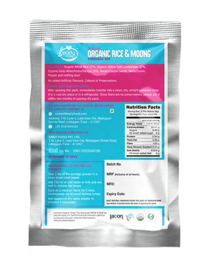 Stage 1 Trial Pack Combo - Organic Fresh Porridge Mixes - 50g each X 4