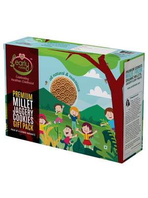 Premium Millet Jaggery Cookies Gift Box
