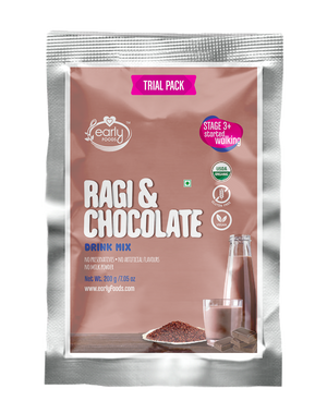Trial Pack - Organic Ragi & Chocolate Health Drink Mix 50g