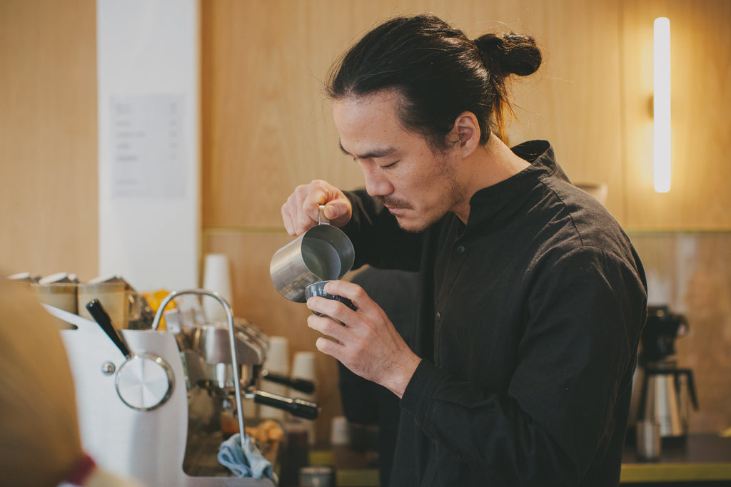 Artificer Coffee Mr. Shoji Sasa