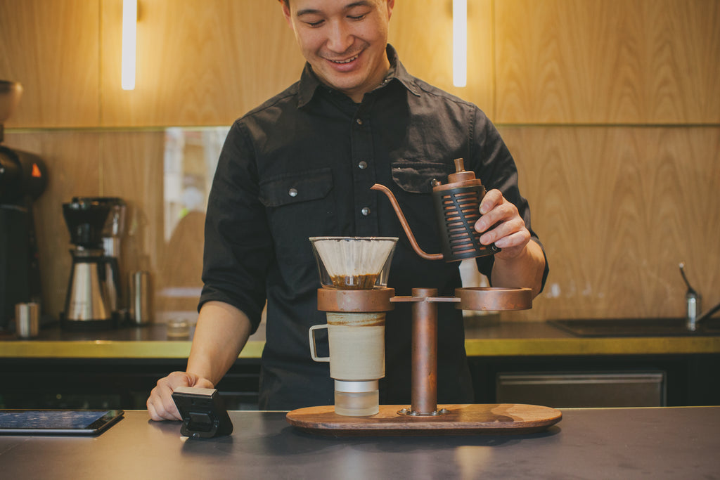 Artificer Coffee Mr. Dan Yee