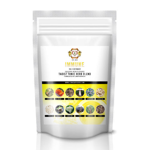 Immune Instant Herbal Tea Blend, 100g, 10:1 Extract, 50 day supply