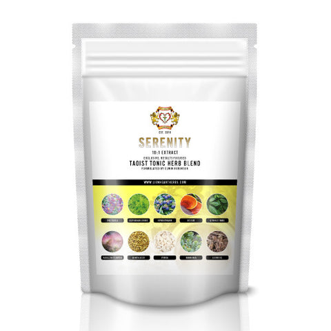 Serenity, Instant Herbal Tea Blend, 100g, 10:1 Extract