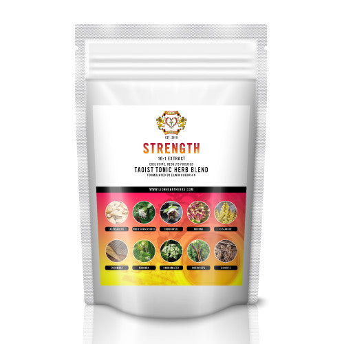 Strength Instant Herbal Tea Blend, 100g, 10:1 Extract