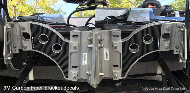 Carbon Fiber Bracket Decals