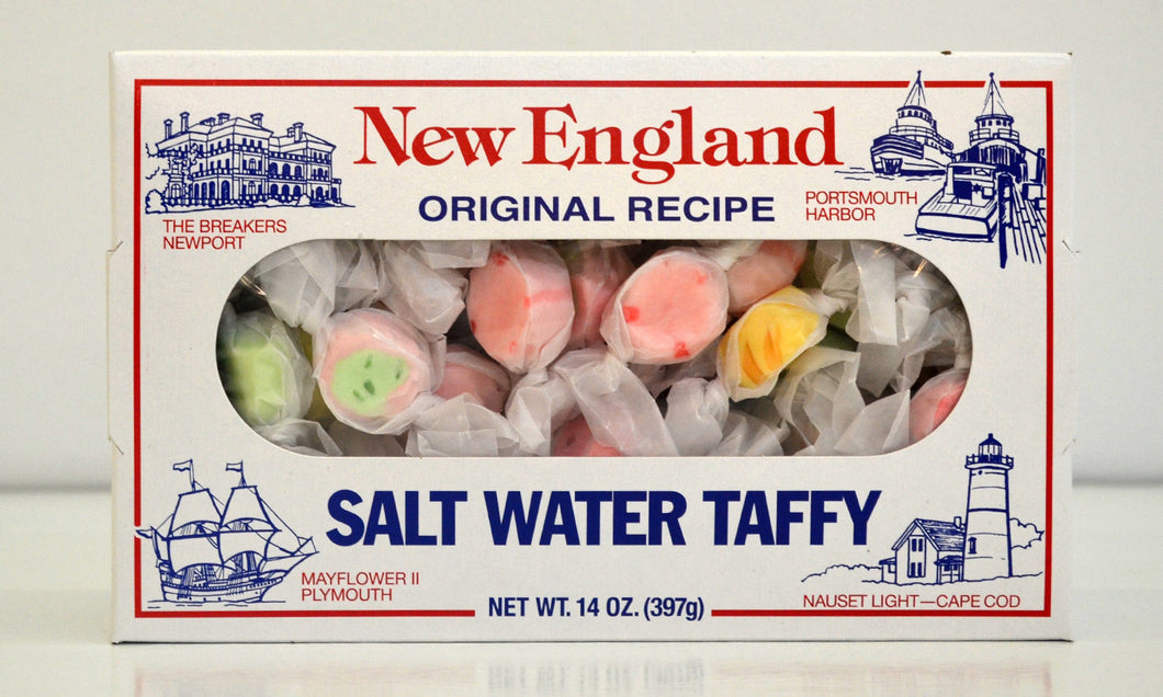New England Salt Water Taffy - Molasses Peanut Butter