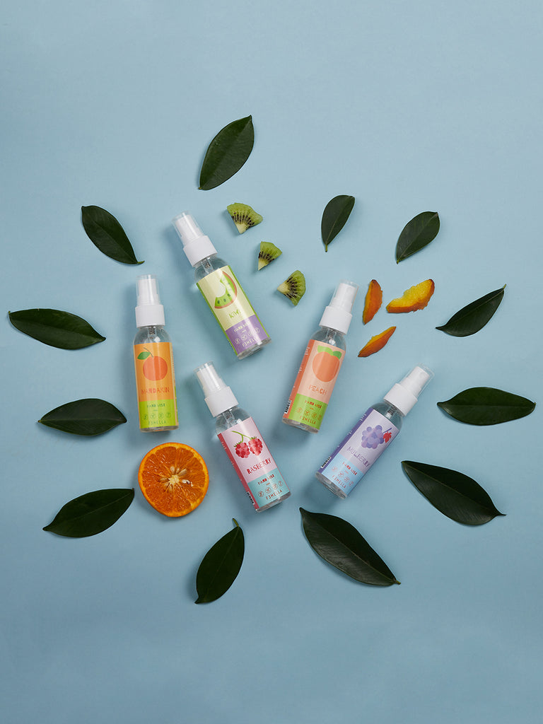 Sweet and Juicy Hand Mist Sprays - Pack of 5