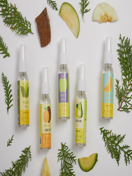 Fresh Hand Mist Sprays - Pack of 5