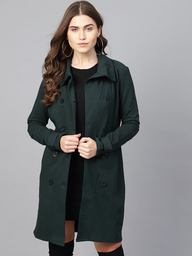 Emerald Double Breasted Jacket