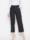 Black Flared Pants