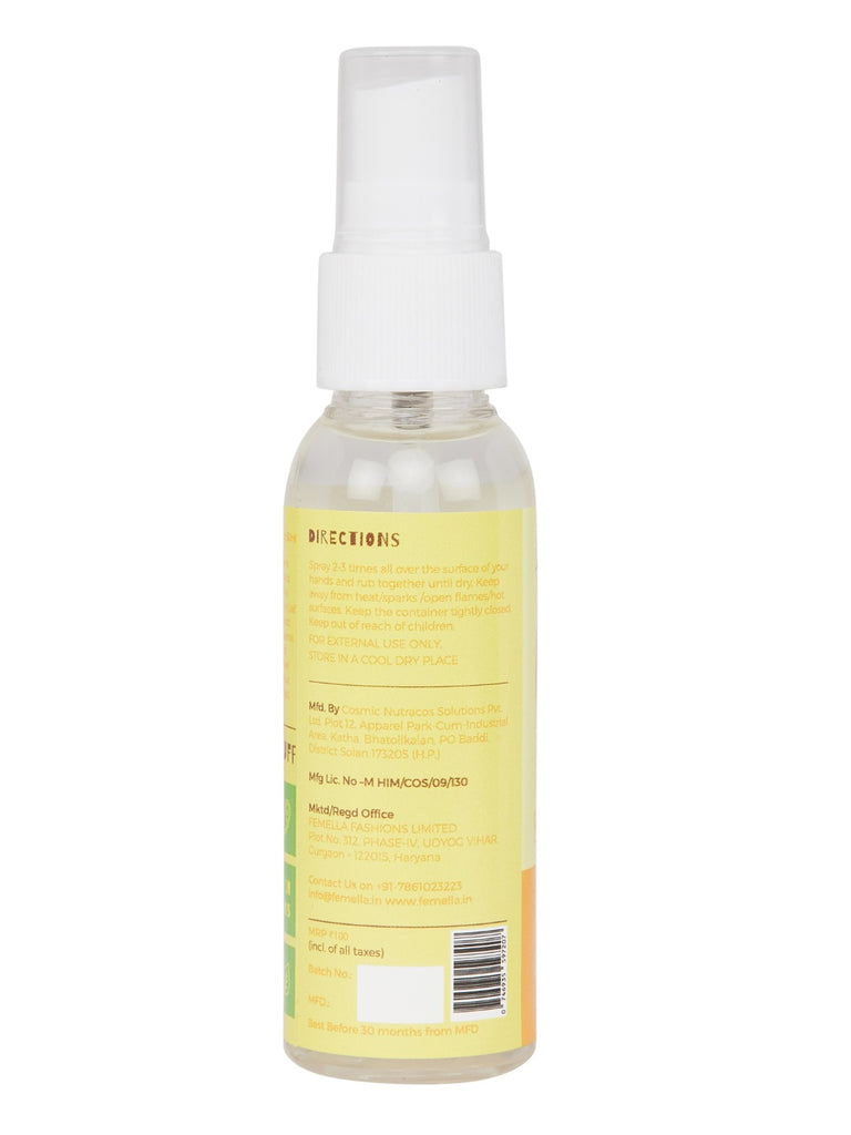 Pineapple and coconut Hand Mist Spray