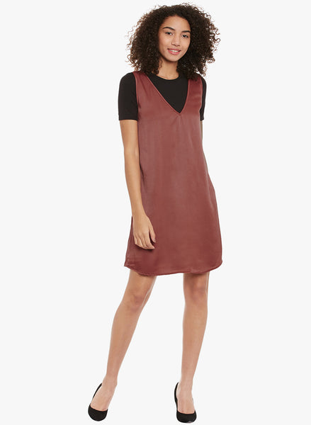 Dark Blush Slip Dress