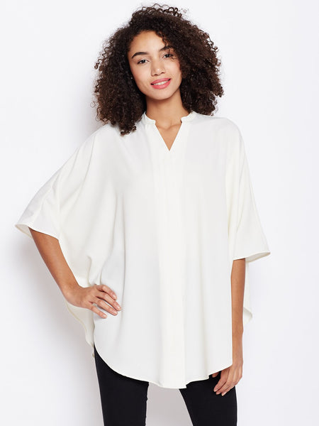 Offwhite oversized button down shirt