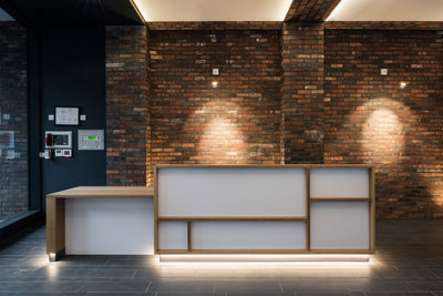 LIVE Works Reception Desk - Newcastle