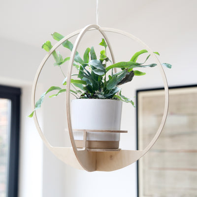 Wooden Plant hanger - Circle