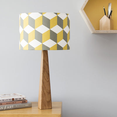 Isometric Cube Lamp & Shade