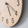 Stunning simple handmade wooden clock